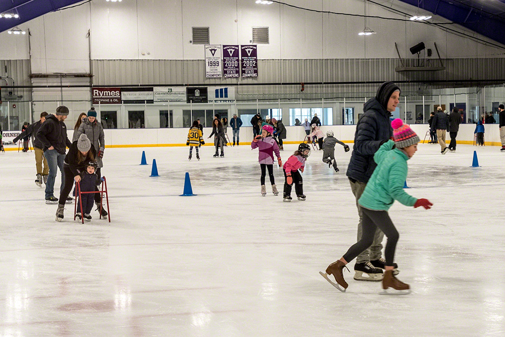 Martha's Vineyard Ice Arena: Skating in the Off-season belongs on everyone's Vineyard Bucket List