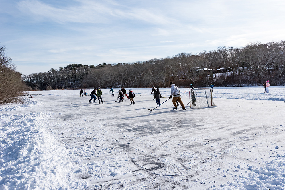 Martha's Vineyard Bucket List: Winter Ice Skating In The Off Season