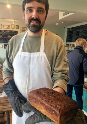 Francoise The Baker At Not Your Sugar Mamas Makes Gluten Free Bread On Martha's Vineyard