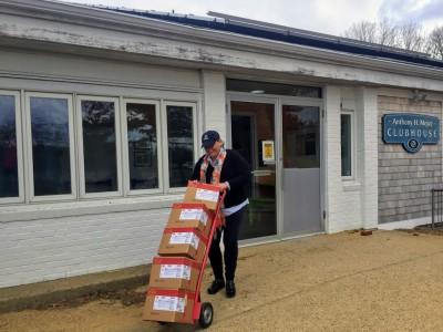 Tyson Foods Chicken Tender Donation To Martha's Vineyard Boys & Girls Club Healthy Happy Kids