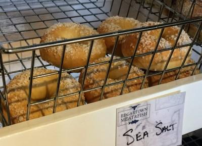 Martha's Vineyard Fresh Bagels At Edgartown Meat & Fish Market Restaurant