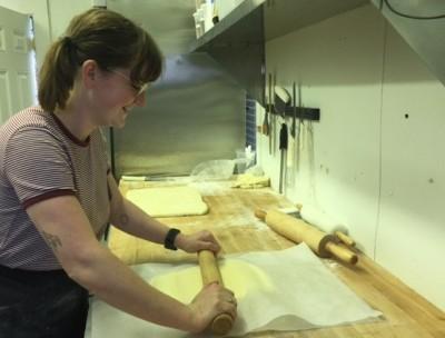 Behind The Bookstore Baker Georgia Macon Martha's Vineyard Fresh Bread Pastries