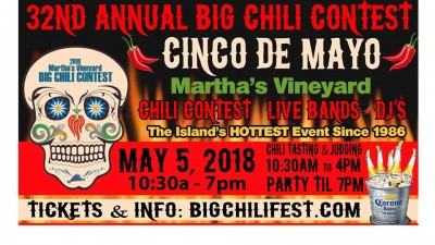 Martha's Vineyard Big Chili Contest Cinco De Mayo