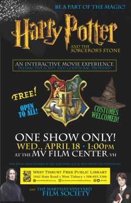 Martha's Vineyard Spring Break Staycation Family Fun Movie Harry Potter MV Film Center