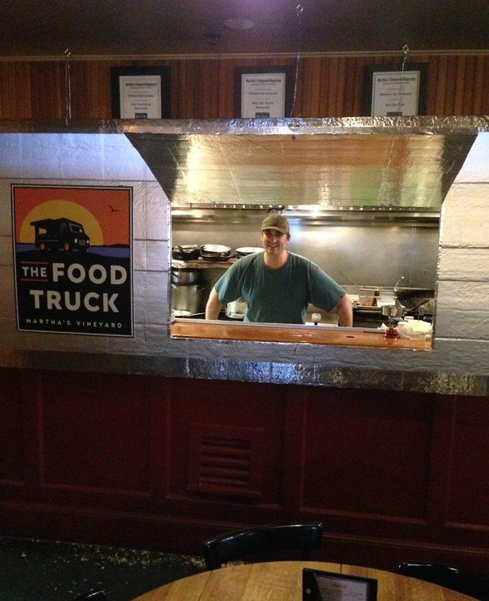 Oak Bluffs Restaurant Offshore Ale Adds The Food Truck Chef Josh Aronie Martha's Vineyard New Restaurants