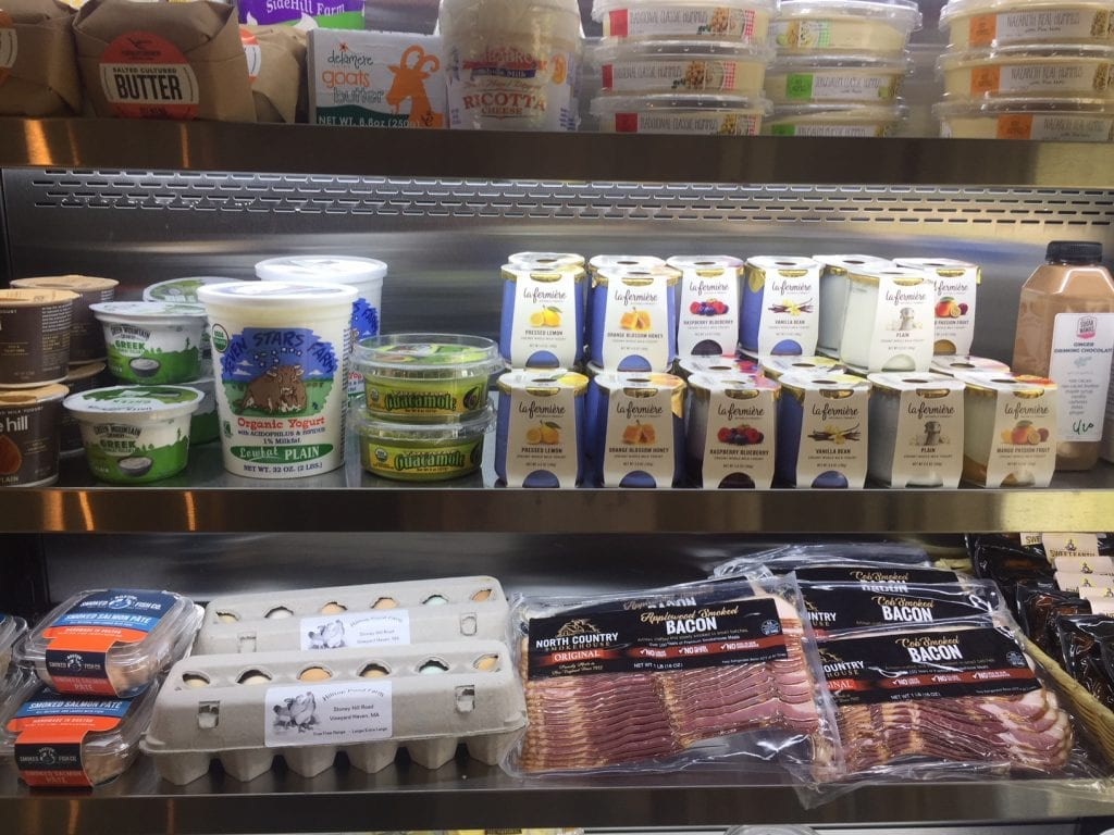 North Tisbury Farm Gourmet Market: Yogurt, Not Your Sugar Mama Cheeses Martha's Vineyard