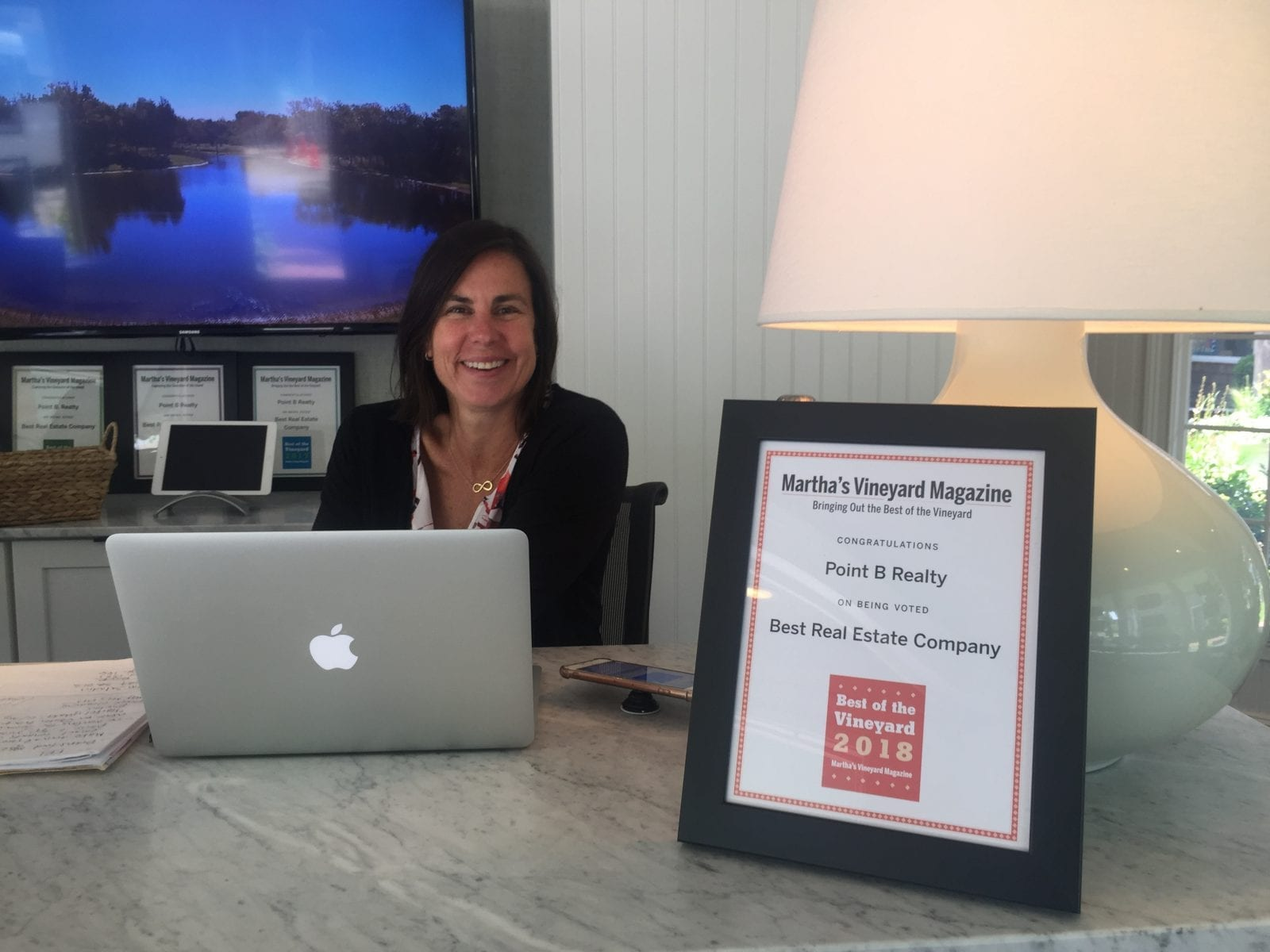Point B Realty Named Best Martha's Vineyard Real Estate Company For Fifth Year In A Row