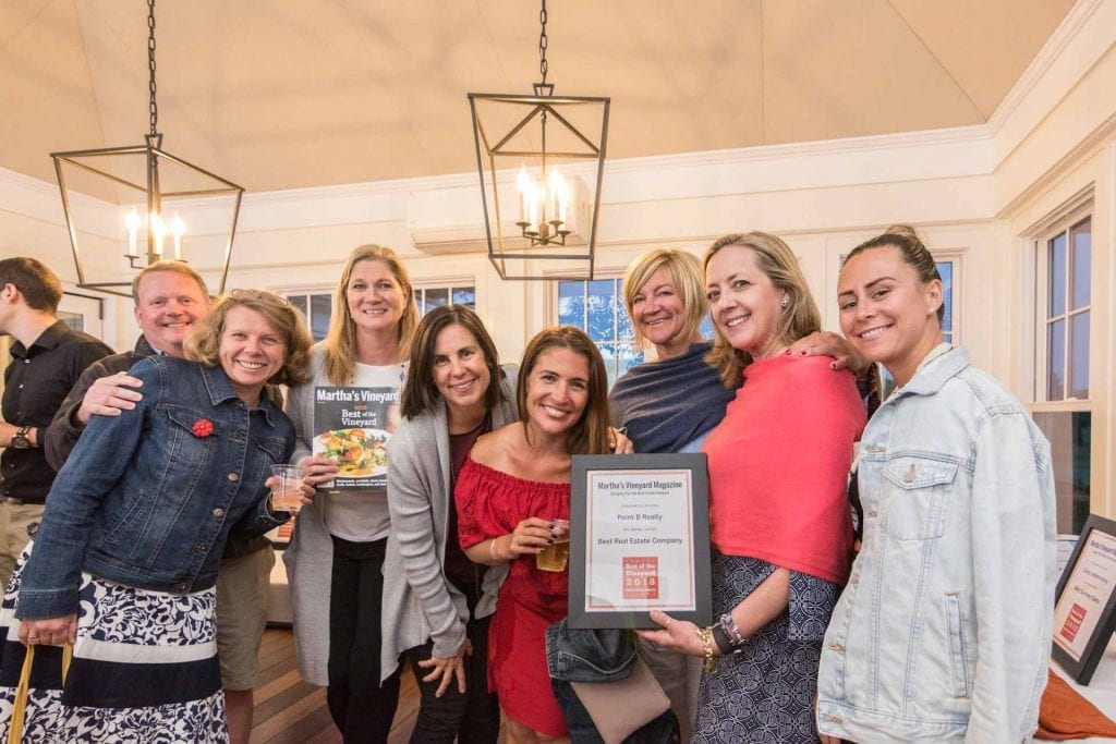 Point B Realty Named Best Real Estate Firm On Martha's Vineyard Fifth Year In A Row - Best of The Vineyard Annual Vote