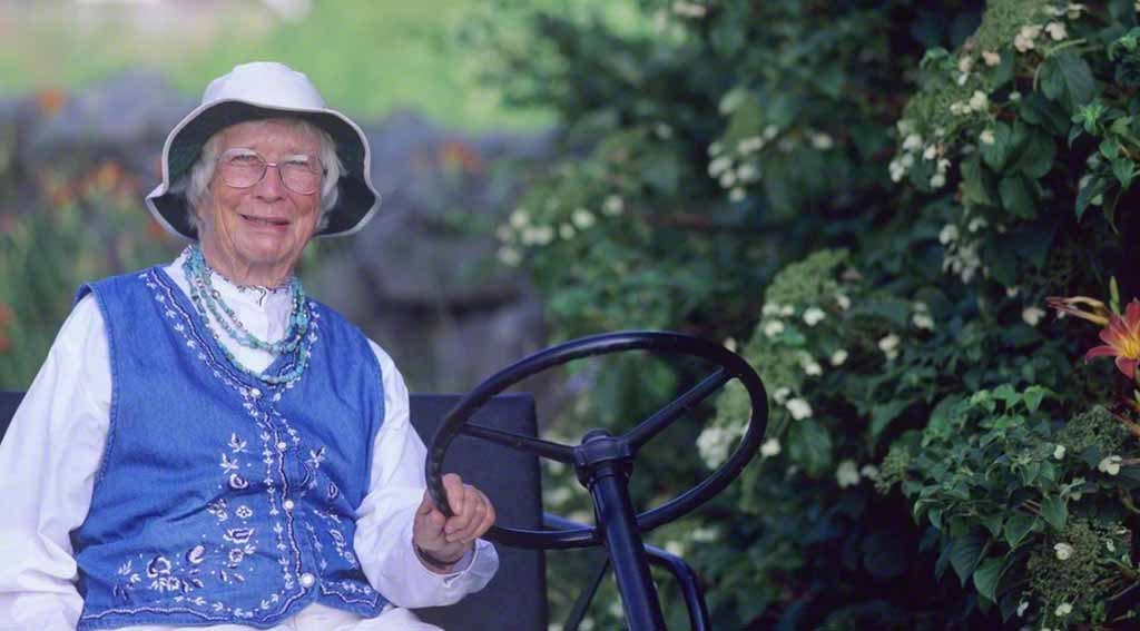 Martha's Vineyard Gardener Polly Hill At What Is Now The Polly Hill Arboretum In West Tisbury