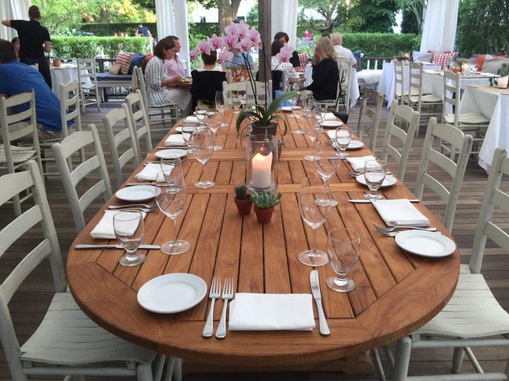 Edgartown Restaurants Outdoor Dining Atria Restaurant Martha's Vineyard
