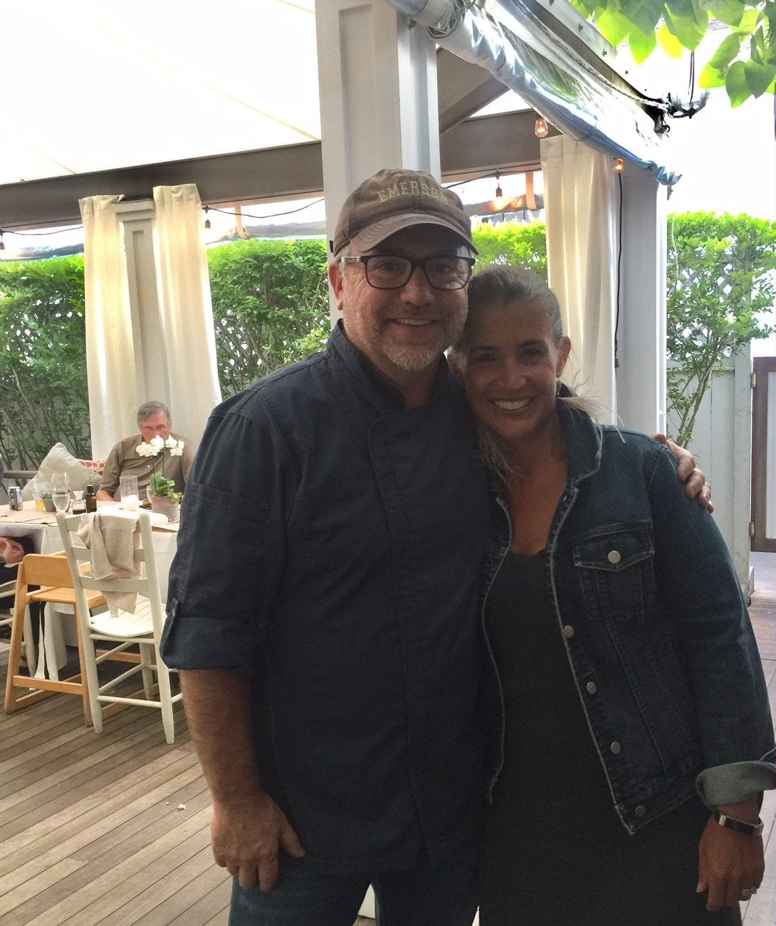 Chef Christian Thornton Atria Restaurant Hamming It Up With On Point Blog Martha's Vineyard Restaurants