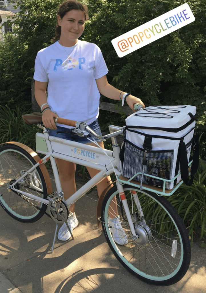 Martha's Vineyard Popcycle Frozen Delivery Treats in Edgartown