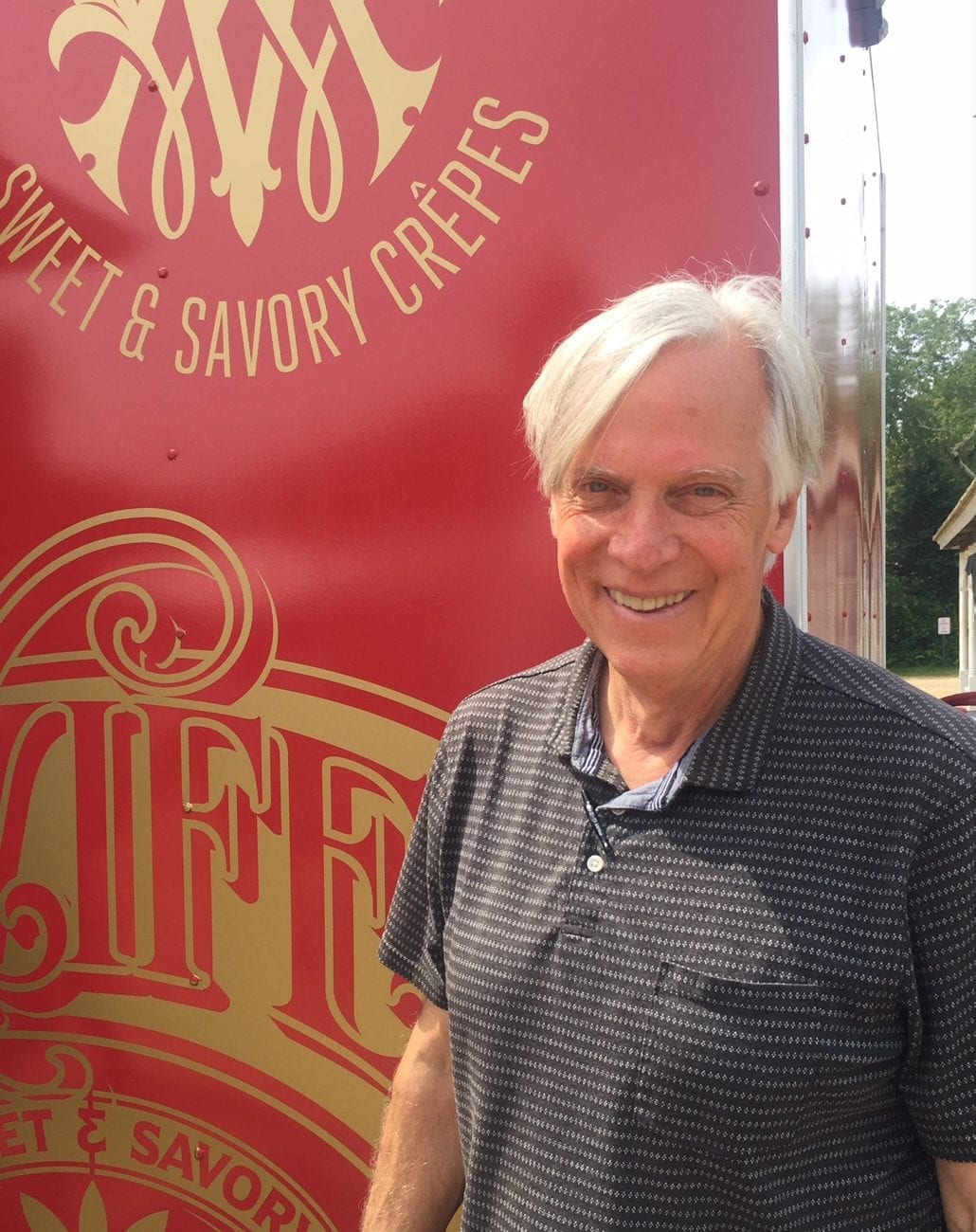 Glenn Roberts, the owner of Anson Mills, The Miller's Wife Crêpes Martha's Vineyard