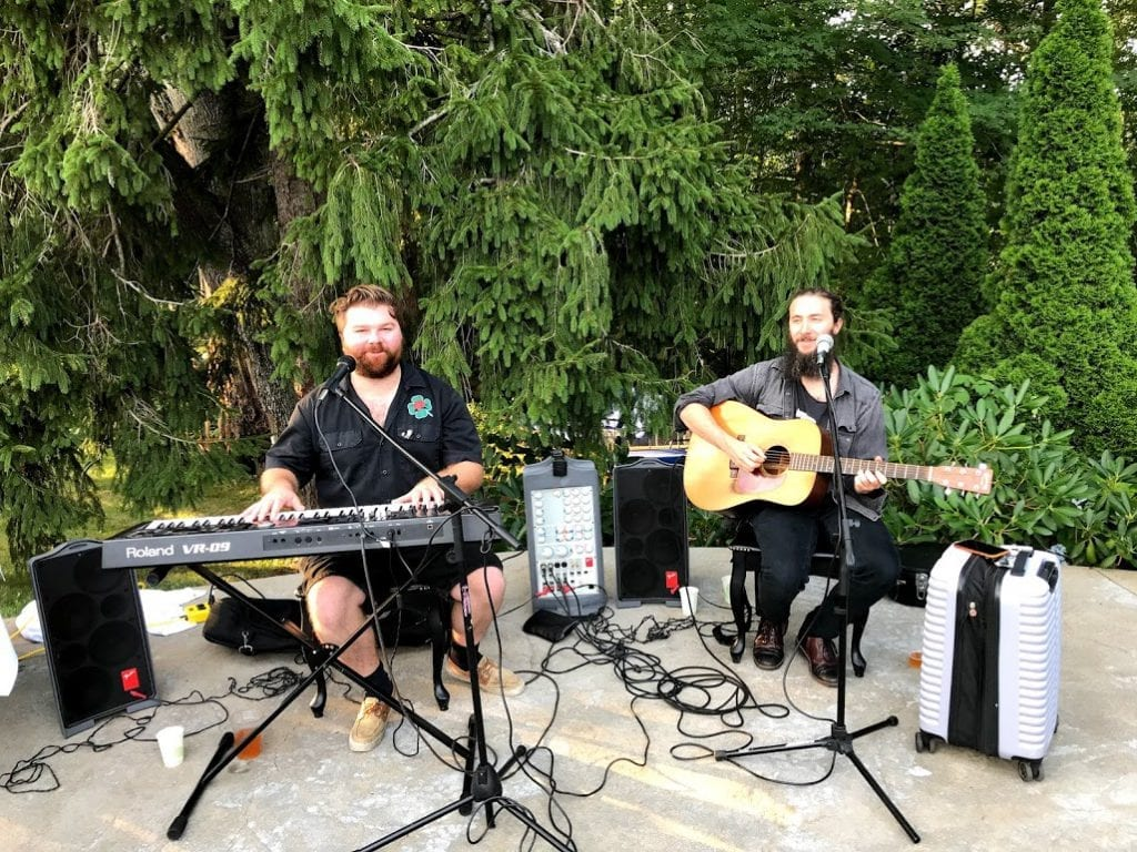 Lambert's Cove Inn Live Music Poolside Barbeque Martha's Vineyard BBQ