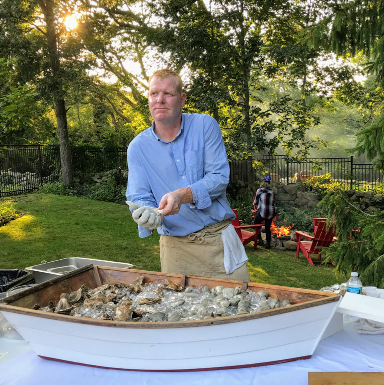 Lambert's Cove BBQ Dinner Includes Fresh Oysters Martha's Vineyard Dining Out