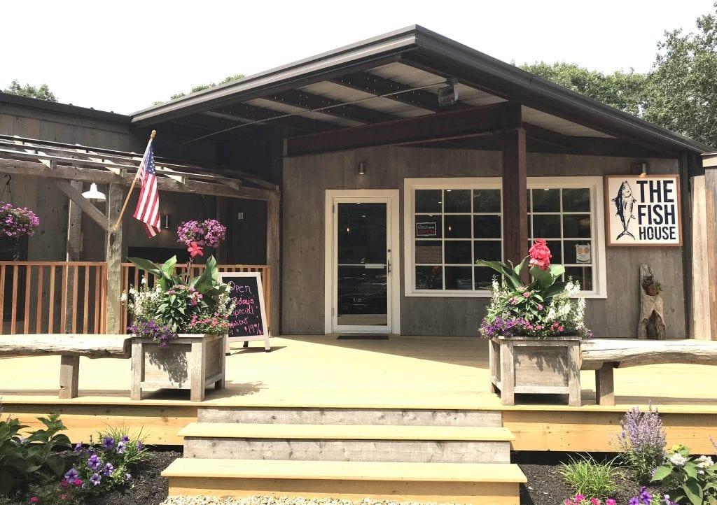 Martha's Vineyard Fish Markets - The Fish House Opens Edgartown Airport Park Black Sheep MV Wine & Spirits
