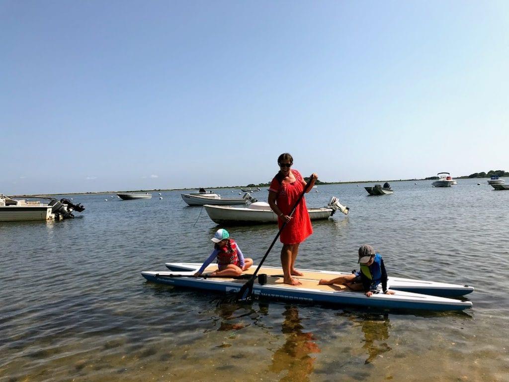 Martha's Vineyard Paddle Boarding Sengekontacket Pond Edgartown