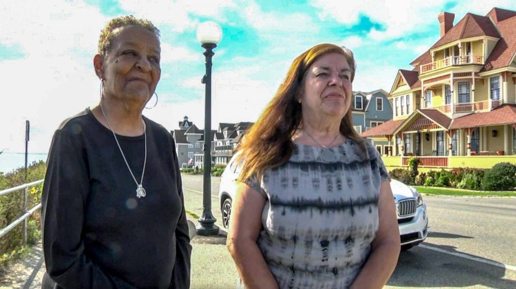 African American Heritage Trail Of Martha's Vineyard Founders Carrie Camillo Tankard and Elaine Cawley Weintraub