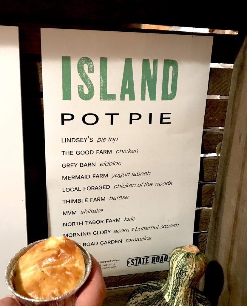 State Road Restaurant Island Pot Pie Martha's Vineyard Food & Wine Festival Fresh Off The Farm