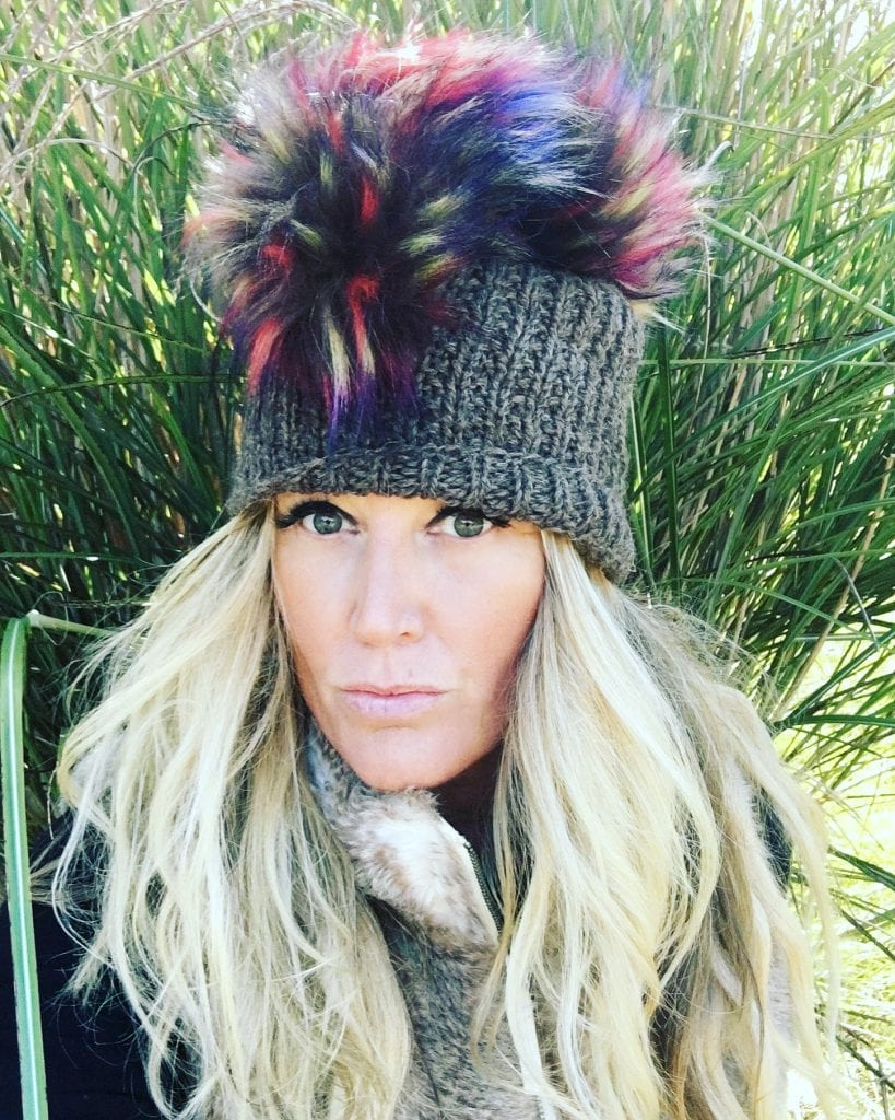 Pomhawk Knit Hats By Nisa Mars Martha's Vineyard