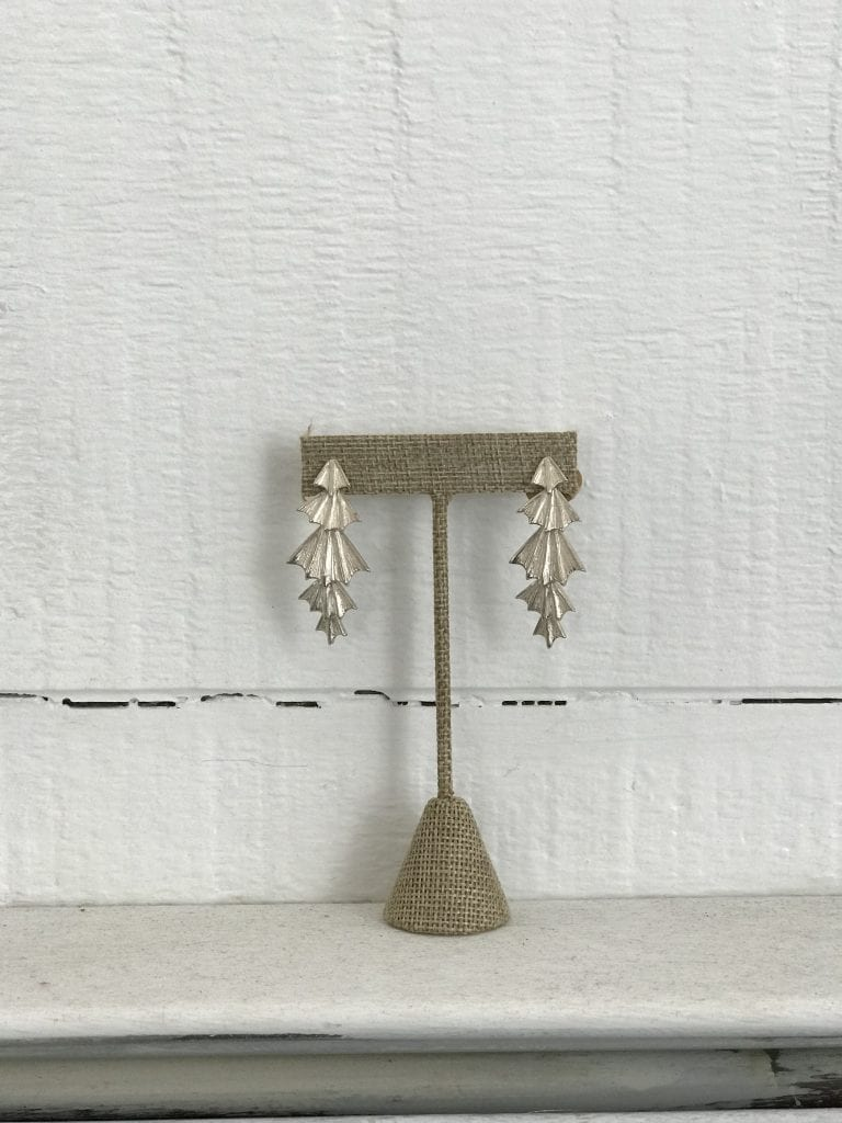 Elysha Roberts of Elysha Joy Metals Custom Earrings Holiday Shopping Martha's Vineyard