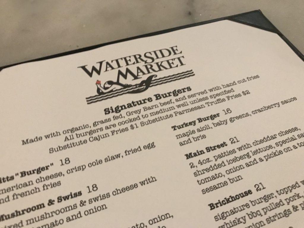 Martha's Vineyard Frugal Foodie Burger Night At Waterside Market Vineyard Haven