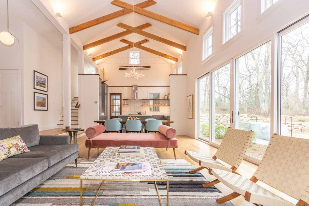 Top Home Design and Remodeling Trends For 2019 Martha's Vineyard Vacation Rentals - Sleek Modern Farmhouse Near Lamberts Cove Beach Point B Realty