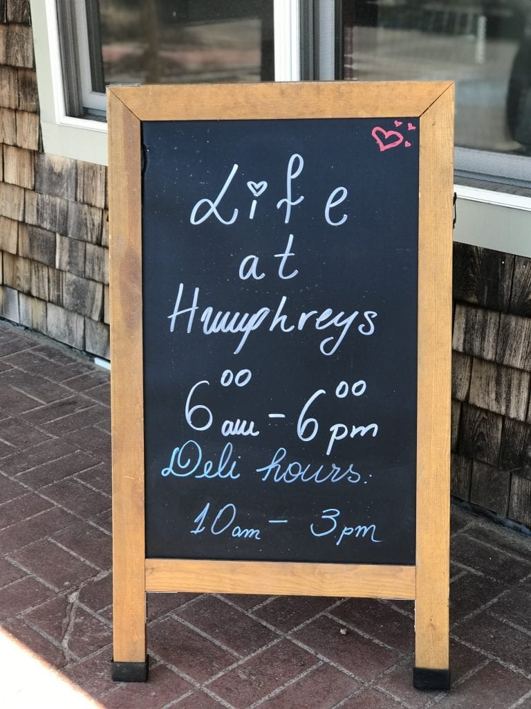 Life at Humphrey's New Vineyard Haven Restaurant Martha's Vineyard
