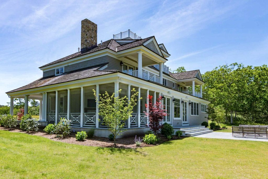 Grand Coastal-Style Estate 5 day Summer Rentals Oak Bluffs Point B Realty Exclusive Martha's Vineyard