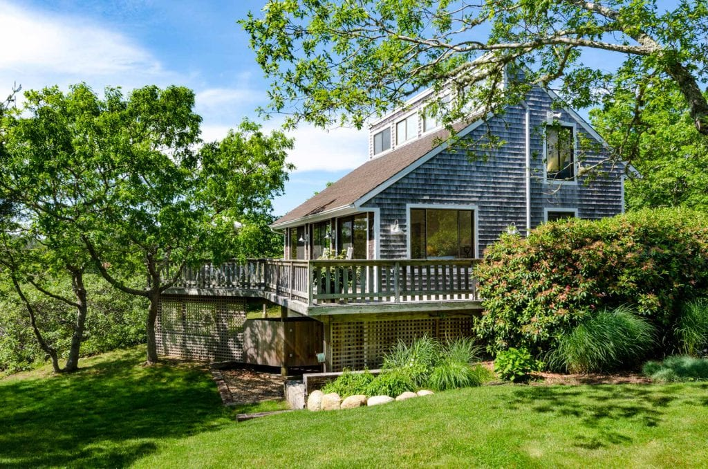 Long Point Hideaway 5 day Summer Rentals West Tisbury Point B Realty Exclusive Martha's Vineyard