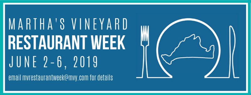 Martha's Vineyard Restaurant Week features 20 Martha's Vineyard Restaurants Offer Lunch And Dinner