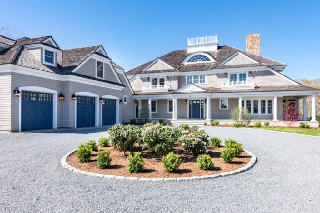 Grand Coastal Estate July Rental Special Exclusive Oak Bluffs Point B Realty Martha's Vineyard.