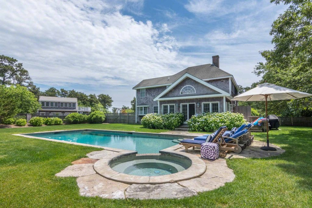 Katama Compound July Rental Special Martha's Vineyard Exclusive Point B Realty