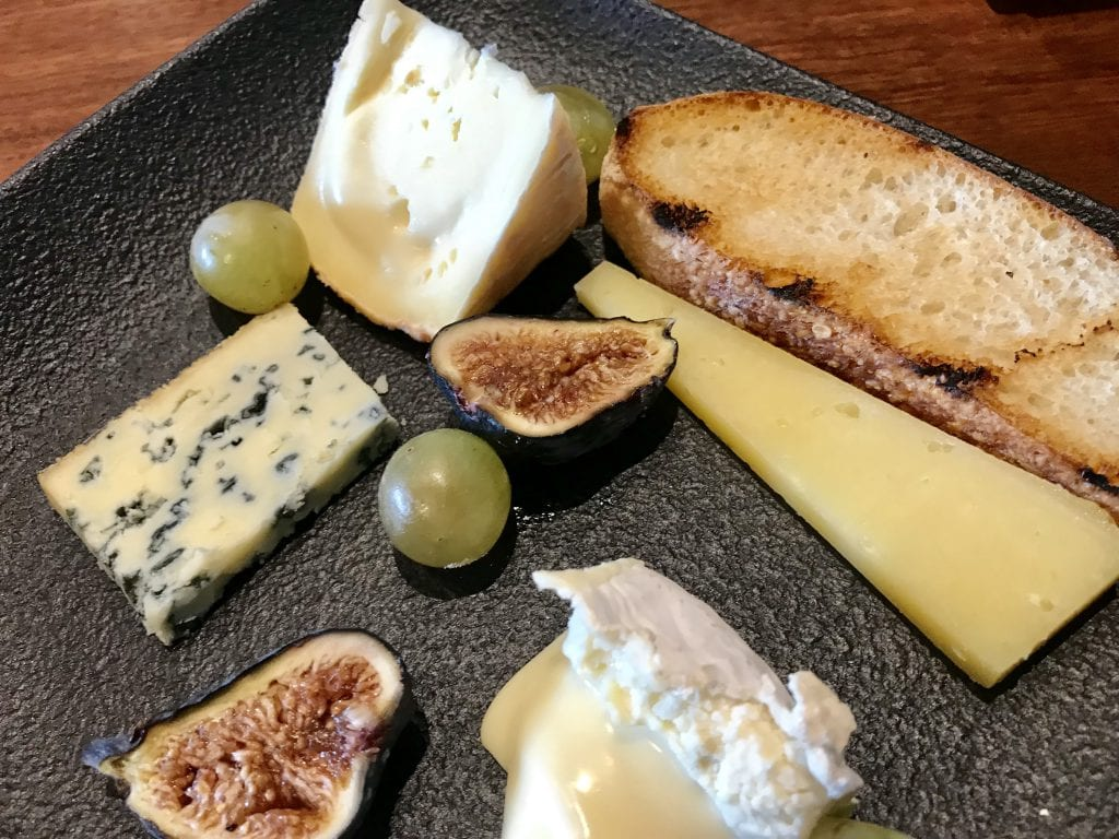 Local Cheese Plate At Harbor View Hotel Roxana Bar Features Grey Barn Cheeses From Chilmark Martha's Vineyard