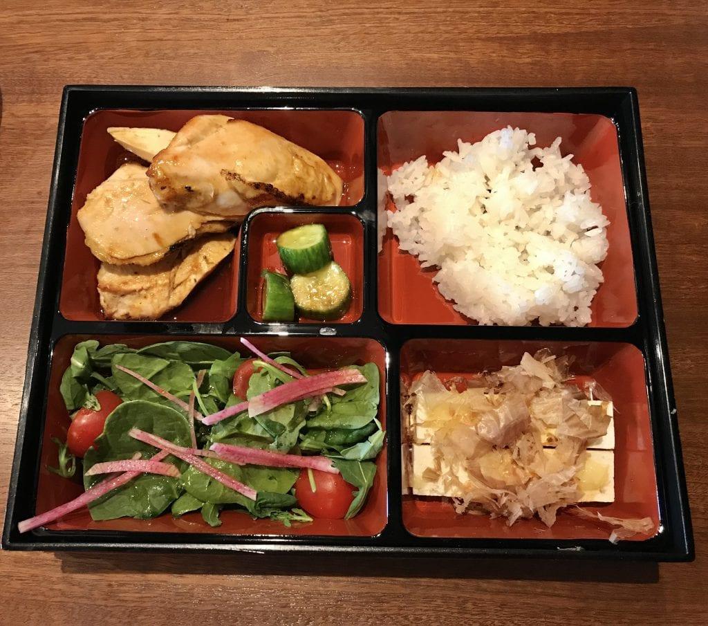 Asian Bento Box Lunch At Roxana Bar Edgartown Martha's Vineyard