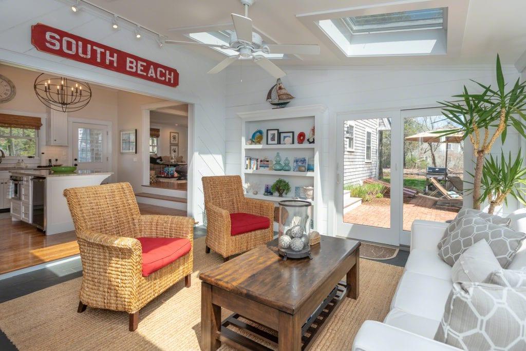 Sunny Lounge With Skylights 63 Herring Creek Road Edgartown MA 02539