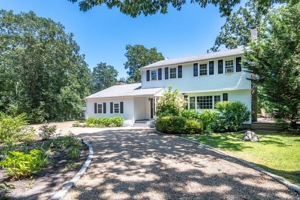 Labor Day Weekend Open Houses In Edgartown - 13 Briarwood Drive Edgartown Point B Realty Exclusive Listing For Sale