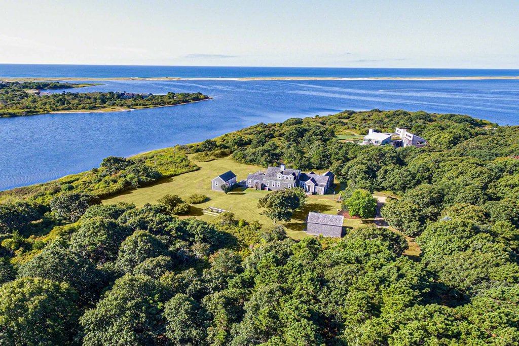 55 Kings Point Way Edgartown MA 02539 Martha's Vineyard Edgartown Great Pond Waterfront Home For Sale Point B Realty Exclusive Listing