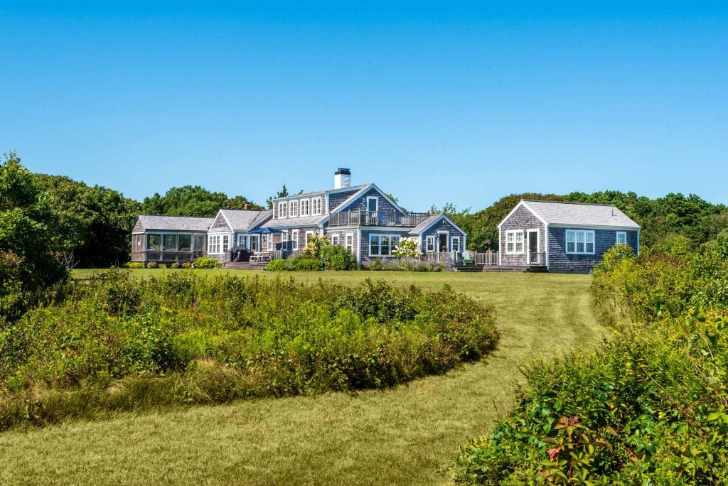 Edgartown Great Pond Waterfront Home 55 Kings Point Way Edgartown MA 02539 Main House And Guest Cottage Point B Realty Exclusive Listing