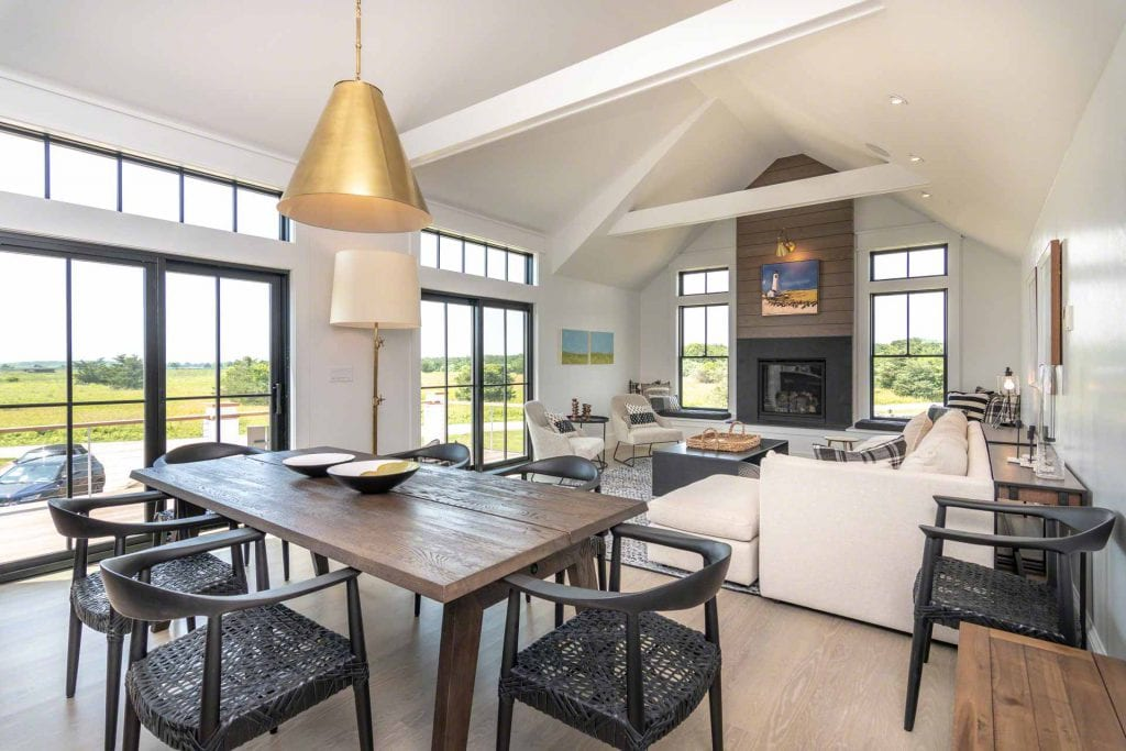 Martha's Vineyard Vacation Rentals Newly Listed Chic Coastal Retreat Great Room Point B Featured Rental For Summer 2020