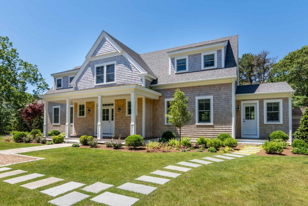 9 Pradas Way Katama Edgartown MA 02539 Martha's Vineyard Coastal Chic Farmhouse New Construction For Sale Point B Realty Exclusive Listing