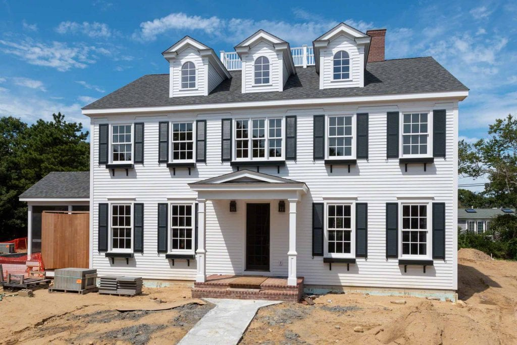 New Construction Preview 27 South Street Edgartown MA 02539 Martha's Vineyard Luxury Homes Point B Realty Exclusive Listing For Sale