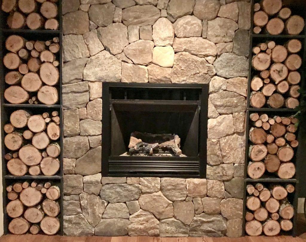 The Fireplace At Woods Restaurant Lambert's Cove Inn Martha's Vineyard Dining Out