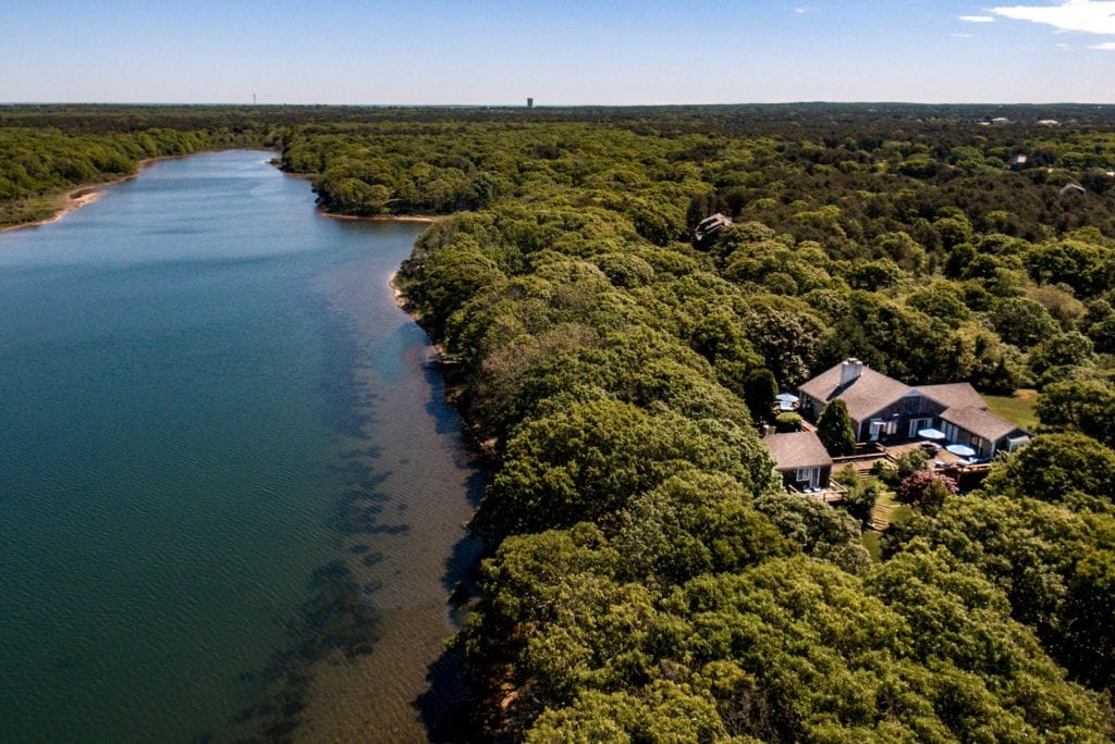 82 Turkeyland Cove Edgartown MA 02539 Martha's Vineyard Edgartown Harbor Waterfront Home For Sale Point B Realty Exclusive Listing