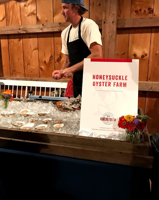 Fresh Off The Farm Oyster Tasting Martha's Vineyard Food & Wine Festival
