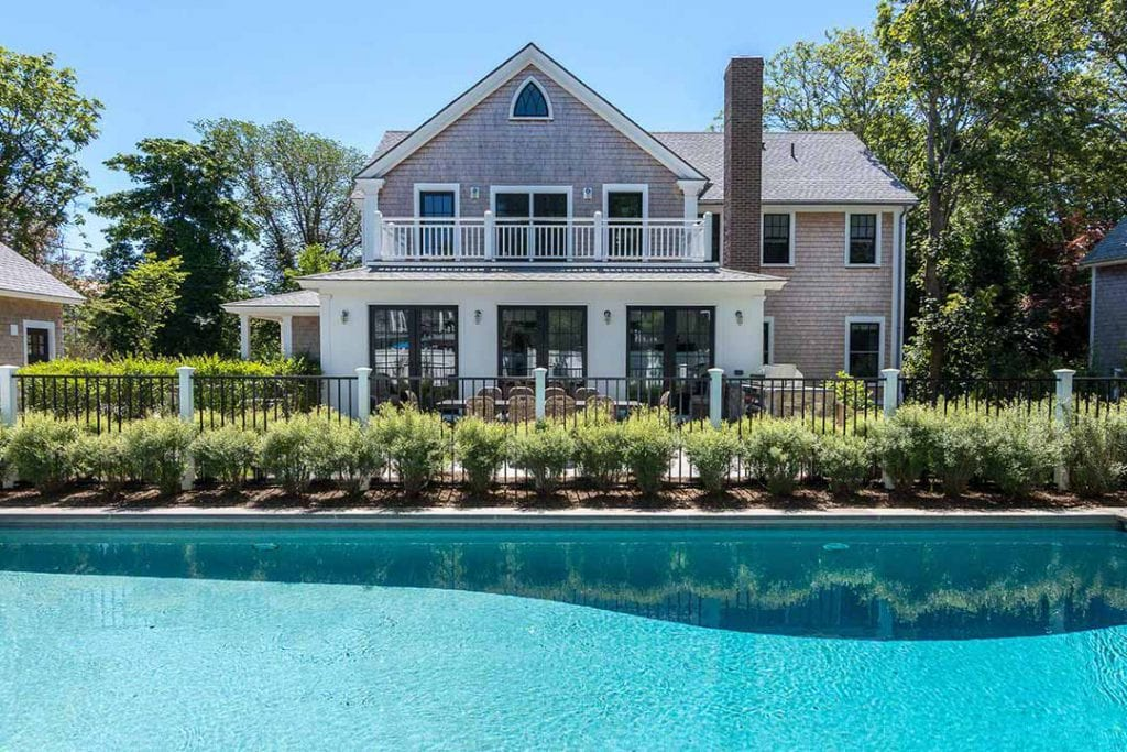 Martha's Vineyard Vacation Rentals For Summer 2020: Modern Farmhouse With Pool In Edgartown Village Point B Realty Top Pick Luxury Rentals