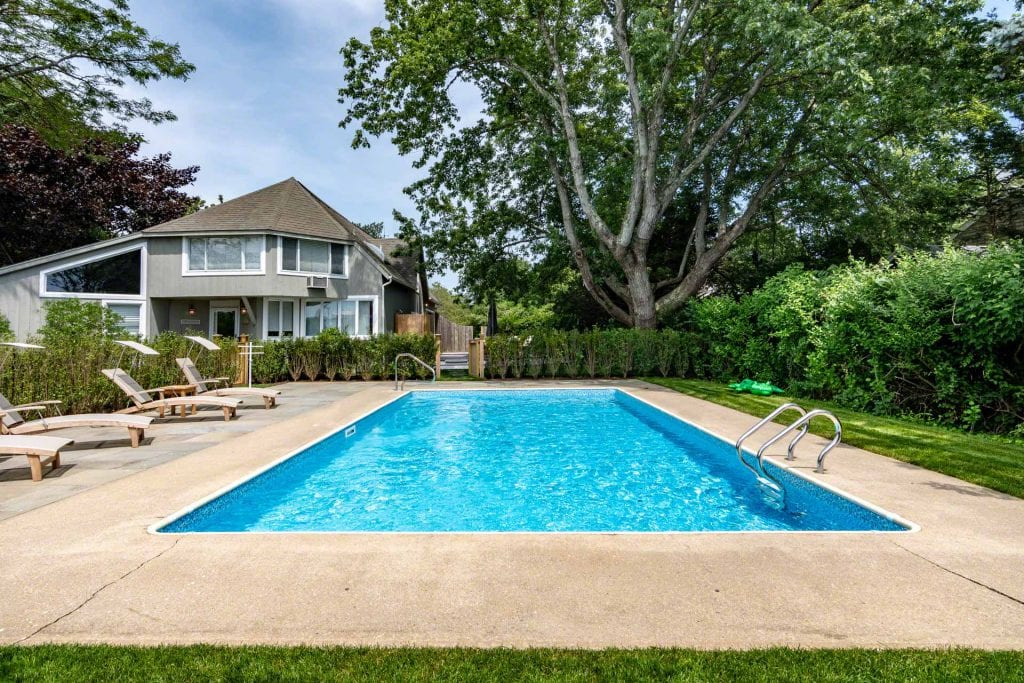 Martha's Vineyard Vacation Rentals For Summer 2020 Barn-Inspired Contemporary With Pool In Edgartown Village Point B Exclusive Rental Listing EDG TMOR-112