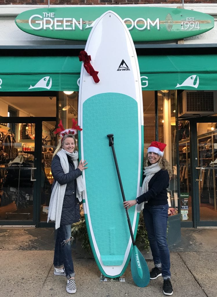 Martha's Vineyard Teddy Bear Suite Holiday Raffle Features Adventure Paddleboard From The Green Room