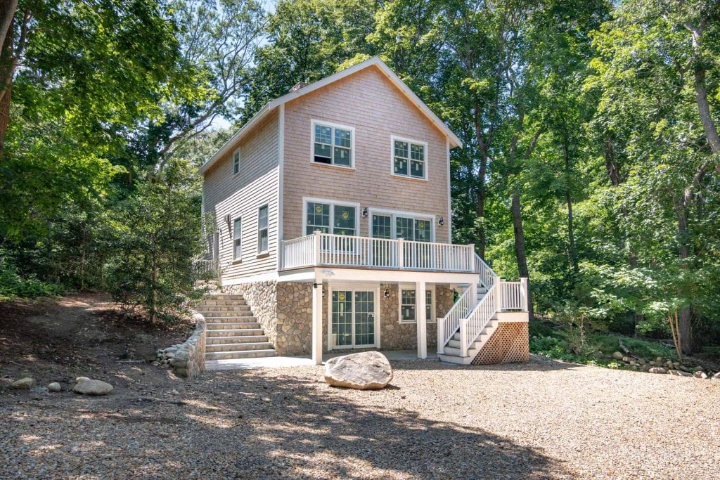 82 Skiff Avenue, Vineyard Haven MA 02568 Martha's Vineyard Home For Sale Point B Realty Exclusive Listing New Construction