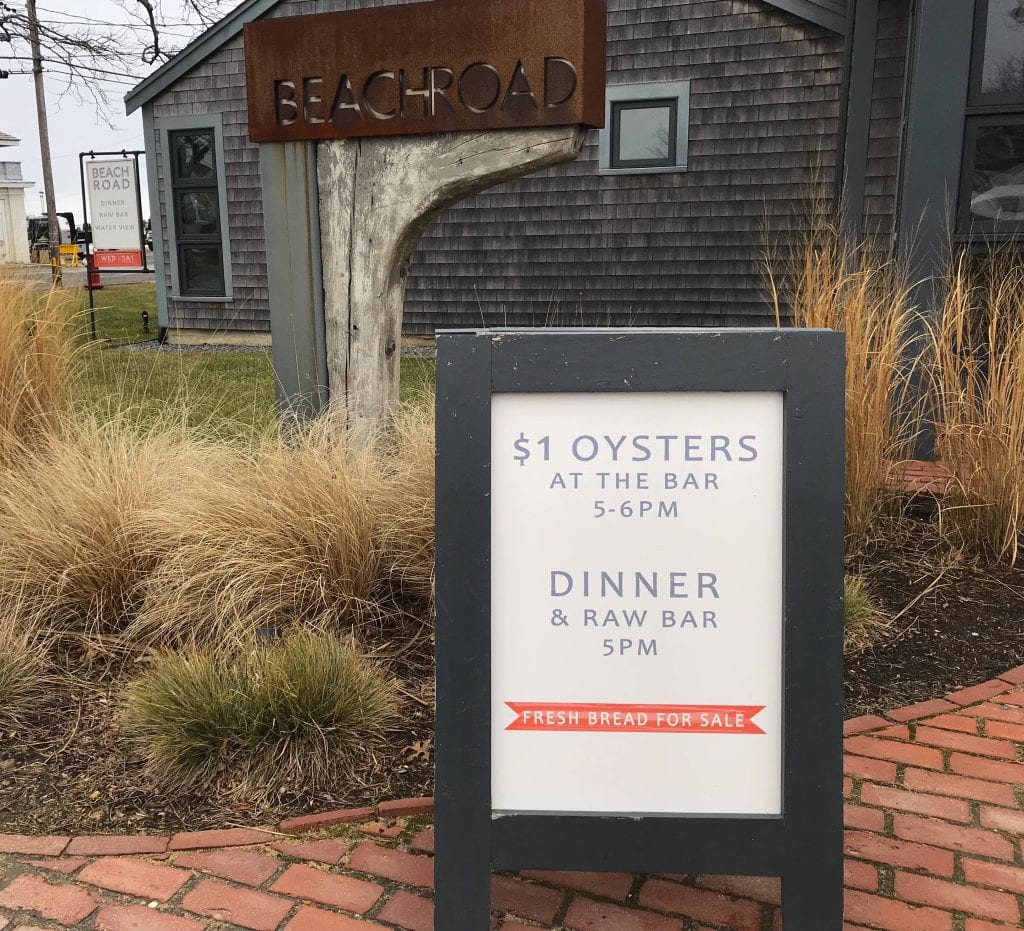 Frugal Foodie Alert Oyster Night On Martha's Vineyard - Beach Road Restaurant Vineyard Haven Seafood